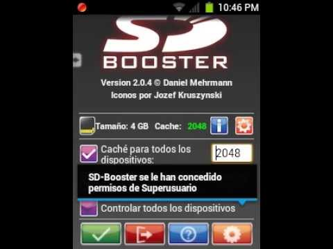 SD BOOSTER RAPIDEZ EN TU ANDROID