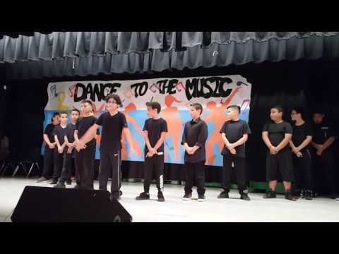 Power end of the year show palm Springs elementary 2016