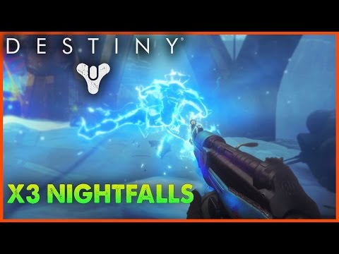 Destiny Exotic Nightfall Strike - HUNTING...