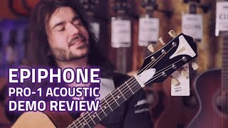 Epiphone Pro-1 Acoustic Guitar review - A Cheap Acoustic That Sounds Amazing!