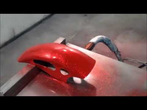 How To Spray MetalFlake paint How to Spray ClearCoat like Glass
