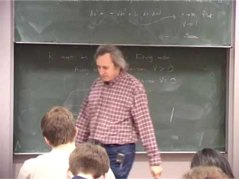 12 - Black Hole Uniqueness theorems, Kerr-Newman Solutions, surface gravity, Angular velocity
