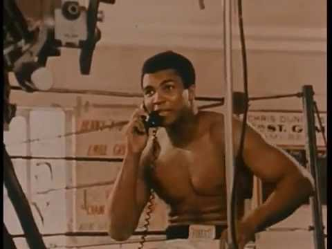 The Real Muhammad Ali Before His Big Fight