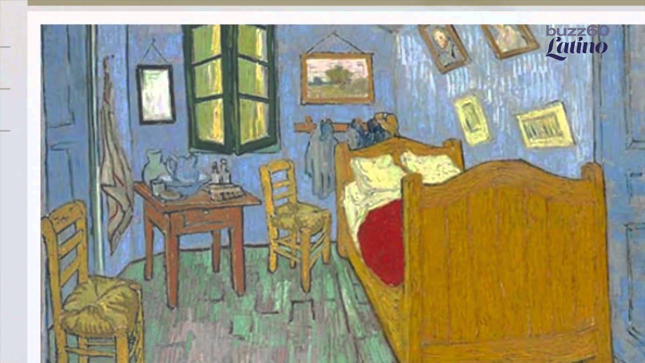 Van Gogh renta su cuarto en Airbnb - YouTube