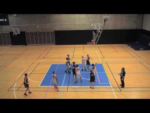 Vålerenga mot  EB 85  basketkamp 22 oktober 2016