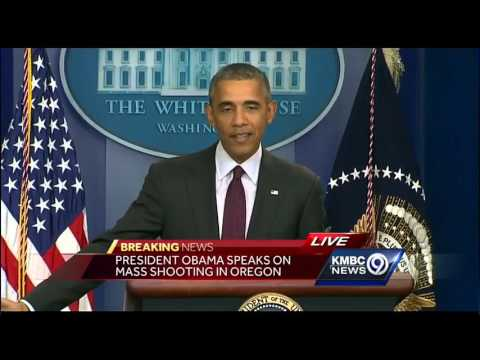 President Obama reacts to mass shooting at Oregon community college