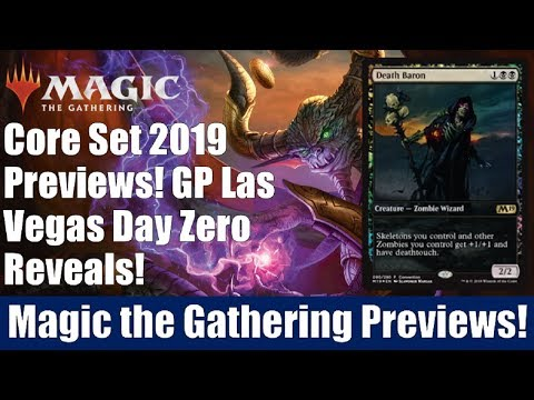 MTG Core Set 2019 Previews: GP Las Vegas Day Zero Reveals
