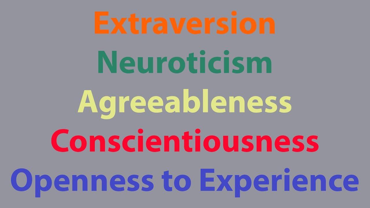 2017 Personality 14: Introduction to Traits/Psychometrics/The Big 5