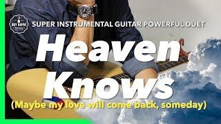 Heaven Knows female key rick price Instrumental guitar karaoke version with lyrics