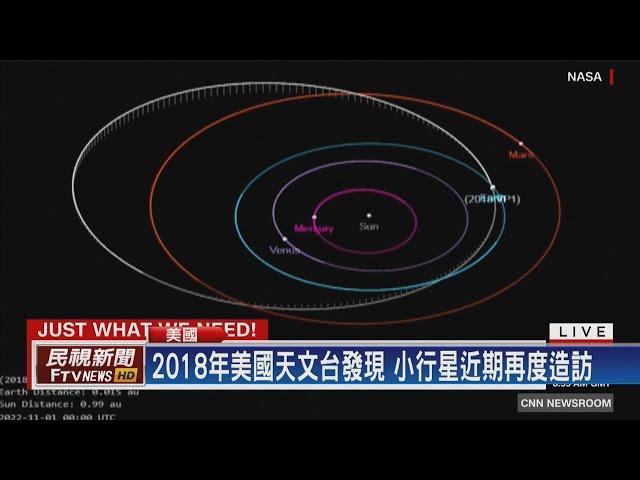 【民視全球新聞】美國總統大選前一天 小行星朝地球直撲而來 2020.08.23
