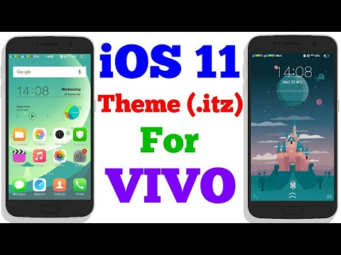 iphone theme for vivo y21l