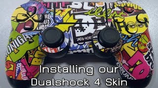 How to install our Dualshock 4 Skin