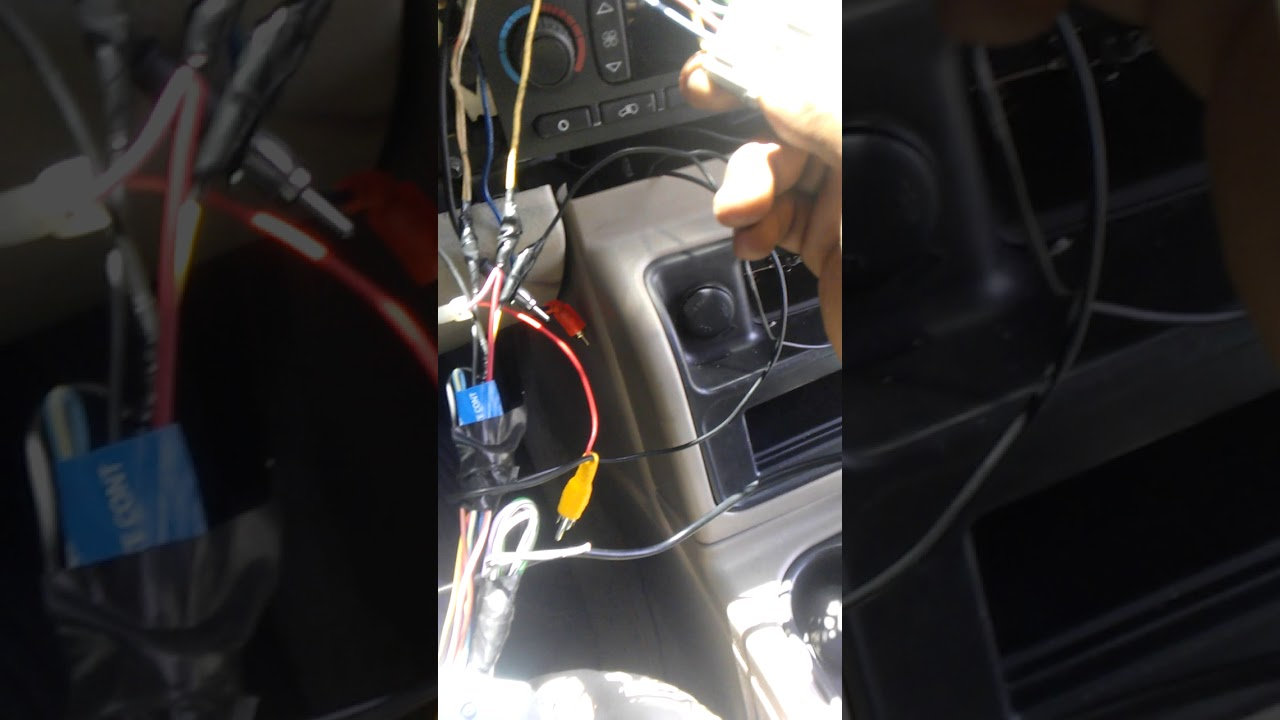 02 chevy tahoe bose amp bypass simple fix [ 1280 x 720 Pixel ]
