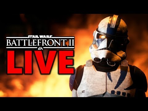 NEW CLONES SKINS IN 5 DAYS! Star Wars Battlefront 2 Live Stream #174 thumbnail