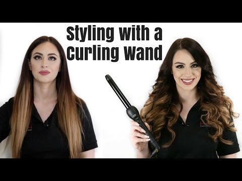 How to Curl your hair using a Curling Wand