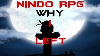 ROBLOX Naruto RPG - Why I Left Nano Training Academy THE REAL REASON
