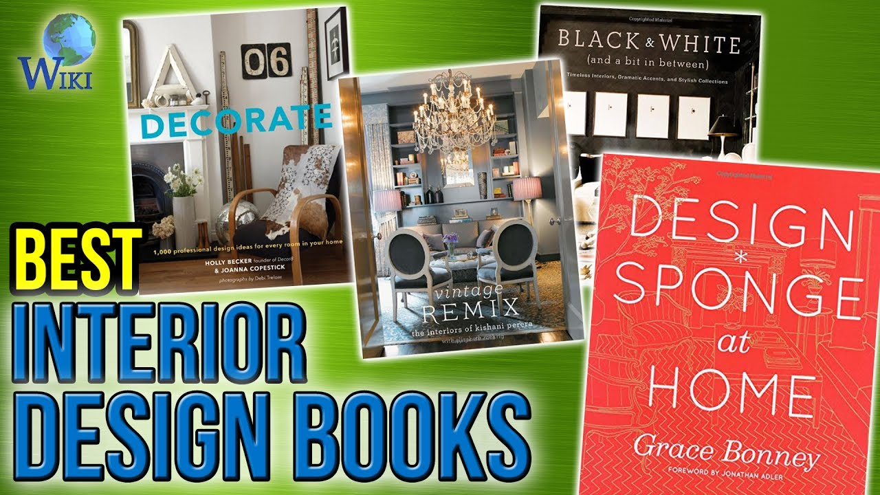 10 Best Interior Design Books 2017