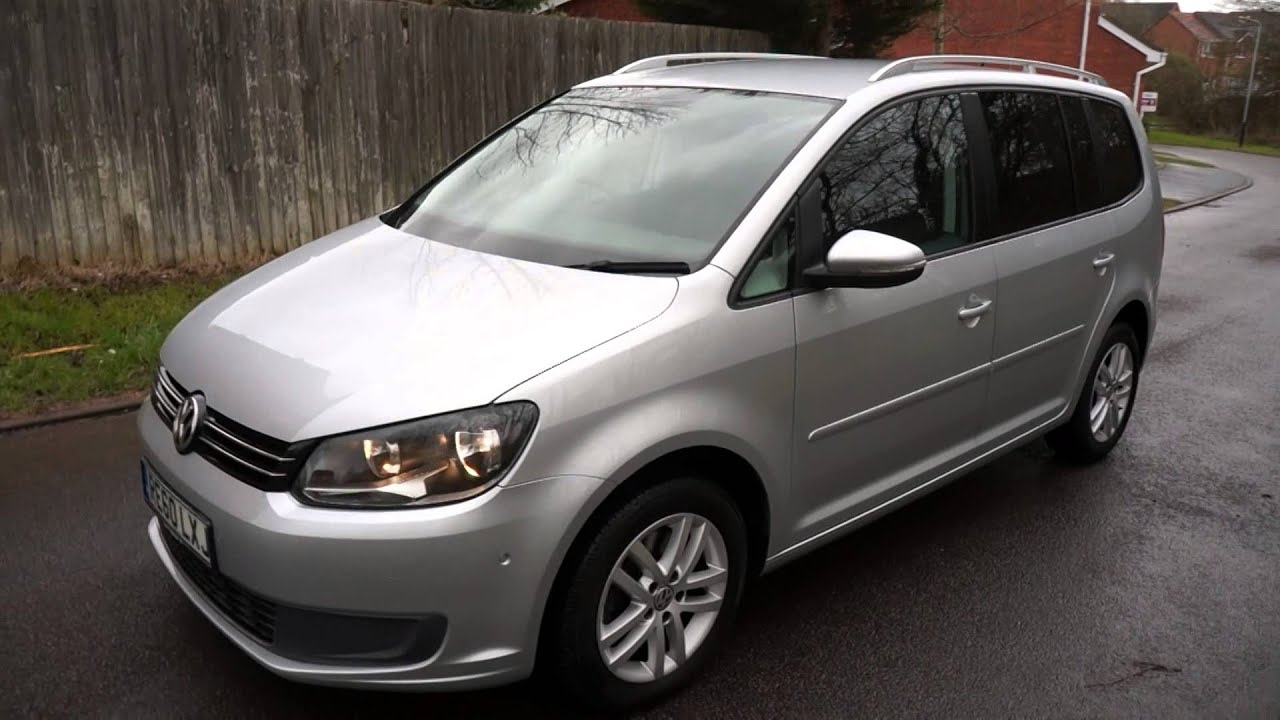 2010 60 volkswagen touran 2 0 tdi se 140 diesel automatic silver youtube. Black Bedroom Furniture Sets. Home Design Ideas