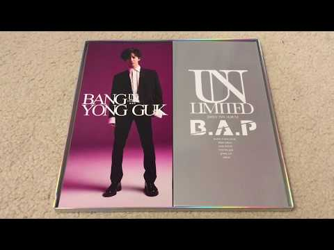 B.A.P UNLIMITED 2nd Japan Album First Press Ultimate Limited Edition Unboxing