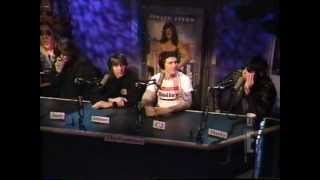 The Ramones @ Howard Stern Show (with ads)