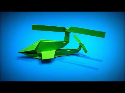 How to Make a Paper Helicopter DIY | Easy Origami ART | Paper Crafts