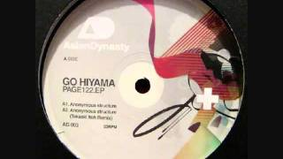 Go Hiyama   Anonymous Structure