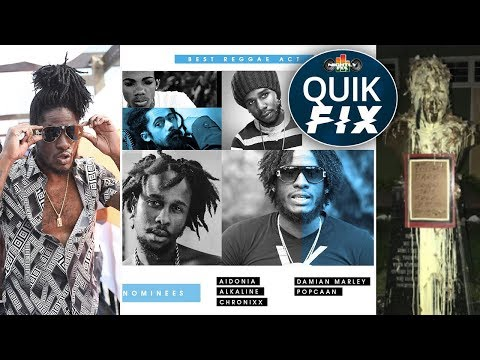 Aidonia 'Hot Tool' a Masicka diss? + MOBO Awards 2017 nominees & Garvey statue vandalized | Quik Fix