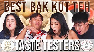 Best Bak Kut Teh in Singapore   Taste Testers   EP 100
