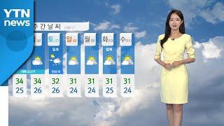[날씨] 서울 하루 만에 다시 열대야...낮 더위 계속…