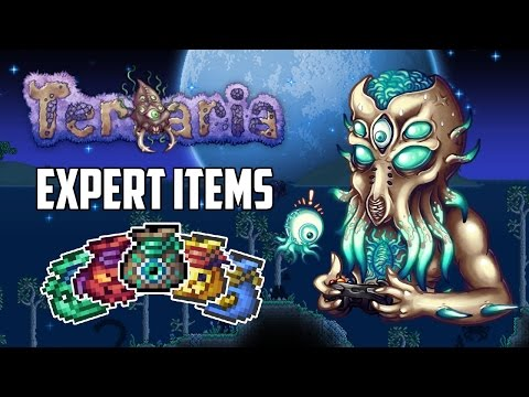 Terraria 1.3 Expert Mode Treasure Bags | Top 5 Best Expert Mode Items | PC | XBOX1 | PS4