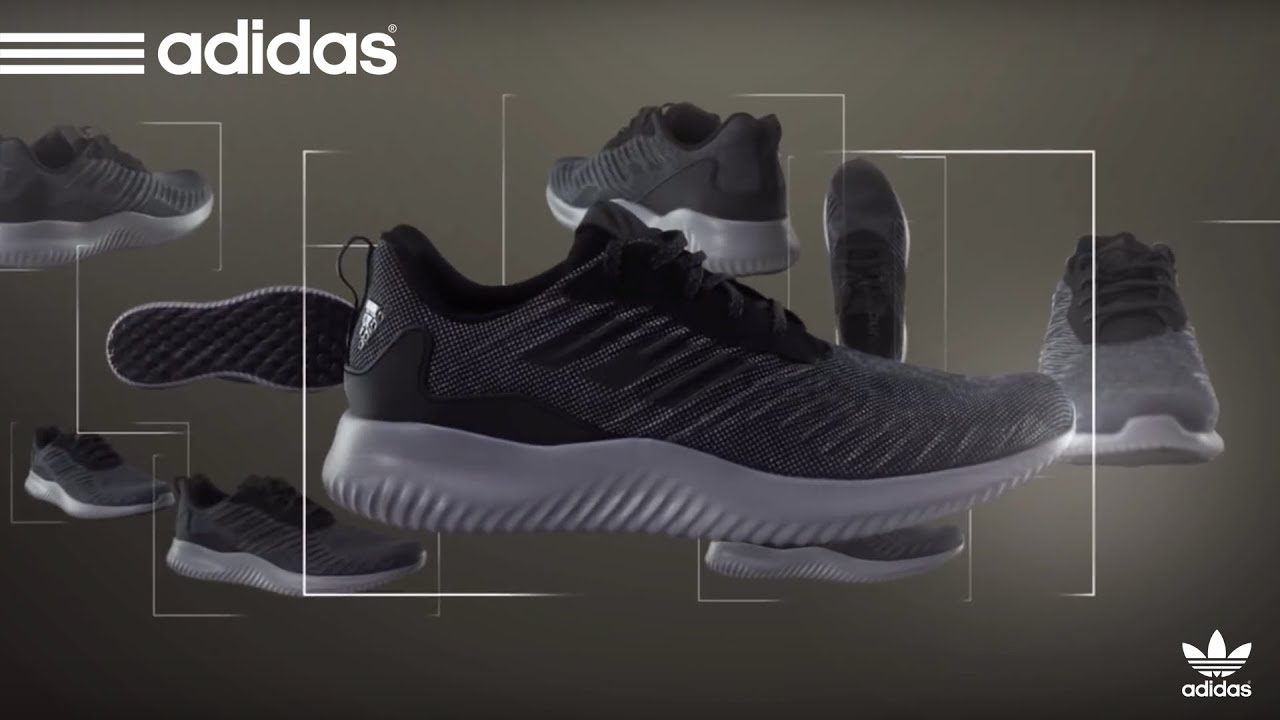 dcf59b84f9456 UNBOXING Adidas alphabounce rc Running Shoes Unboxing   Hands On ...