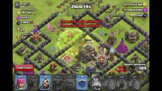 Clash Of Clans: Gameplay Champion+Soprano En Feu