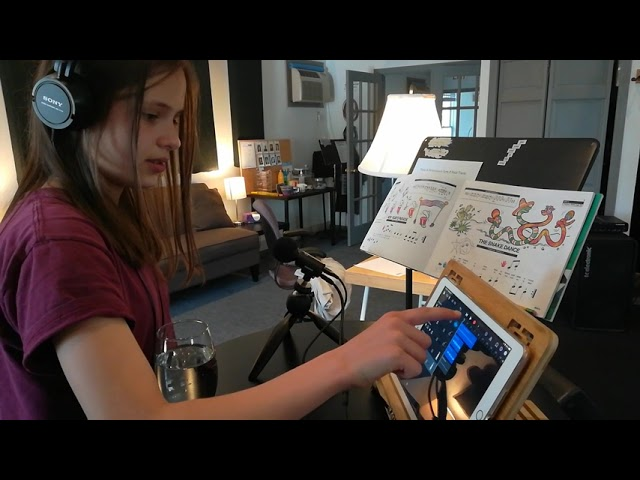 Holly Vetter Sight Reads Piano Party B