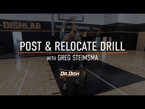 Basketball Drills: Post and Relocate with Former NBA Player Greg Stiemsma