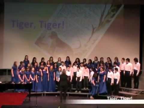 Kodiak Middle School Choir - Tiger, Tiger!