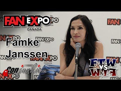 Famke Janssen Hemlock Grove, XMen  eXpo Canada 2017 Panel