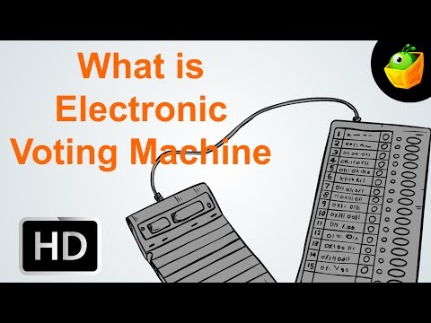 What Is Electronic Voting Machine (EVM) - Election 2014 - Cartoon/Animated Video For Kids