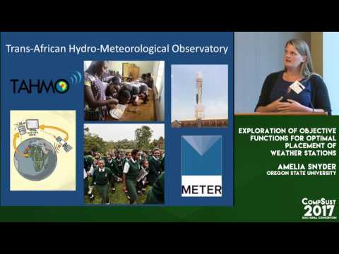 Amelia Snyder, Exploration of Objective Functions for Optimal Placement of Weather Stations