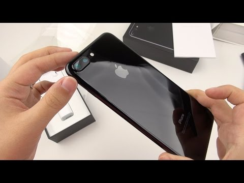 Thumbnail: iPhone 7 Plus Jet Black: Unboxing a Unicorn!