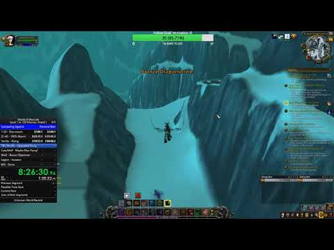 WoW Speed Leveling: Lvl 1-120 (Non-Monk/Solo/BFA) - 34:07:31 Part 2