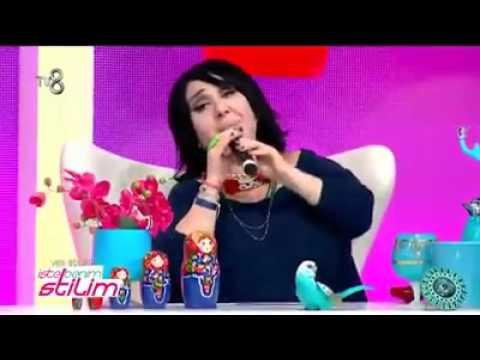 Nurella'dan dembaba performansı :D