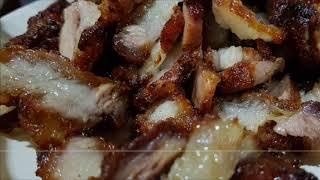 Resipi mudah daging bakar menggunakan airfryer..selamat menonton..