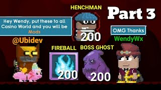TROLLING CASINO WORLD WITH HENCHMAN PART 3 (FUNNY) GROWTOPIA
