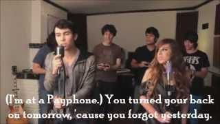 Avery & Max Schneider - Payphone - Lyrics On Screen + Download Link