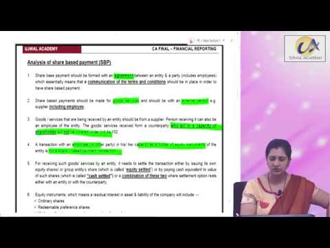 FR  New syllabus - Share Based Payments Day 1