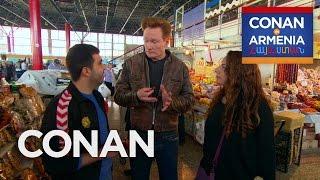 Conan & Sona Visit An Armenian Marketplace  - CONAN on TBS thumbnail