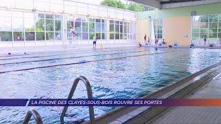 Yvelines | La piscine des Clayes-sous-Bois rouvre ses portes