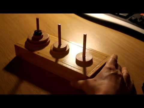 Tower of Hanoi (ASMR)