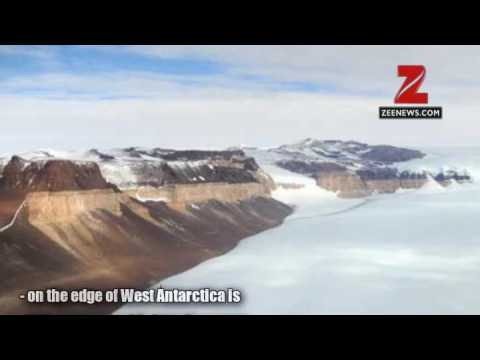 Discovered - Four hidden lakes draining below West Antarctica's Thwaites glacier