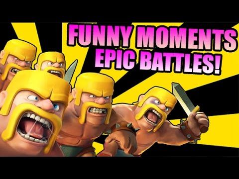 Clash Of Clans LIVE! Epic Clash Of Clans Battles & Funny Moments! (Clash Of Clans)